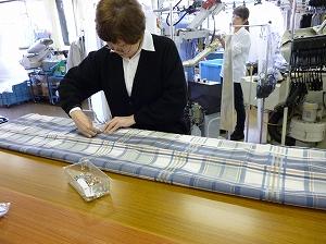 cleaning  クリーニング403 カーテン丈つめのリフォームを承っています。 %tag