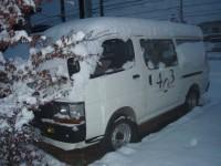 雪かき隊 車
