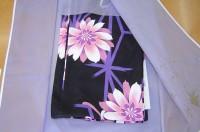 綺麗に仕上がった浴衣を和紙ハイクラス包装