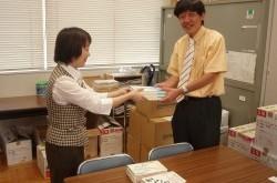 403ボランティア委員会より「県立富士河口湖高等学校様」へ書籍の寄贈を致しました