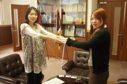 403ボランティア委員会より「県立富士北稜高等学校様」へ書籍の寄贈を致しました