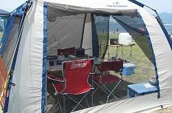キャンプで利用した 「テント」 「タープ」 のクリーニングを承っています
