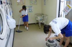 職場体験@ヨンマルサン♪♪ 中学生の2人がきてくれました