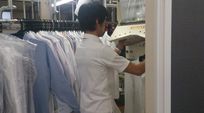 cleaning news  河口湖工場、甲府工場ともに衣替えで大忙し!! %tag