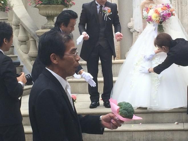 bridal  どこよりも早い中部洗機の久勝社長の結婚式の模様① %tag