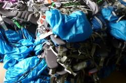 登山用品も連日大量にご依頼を頂いております