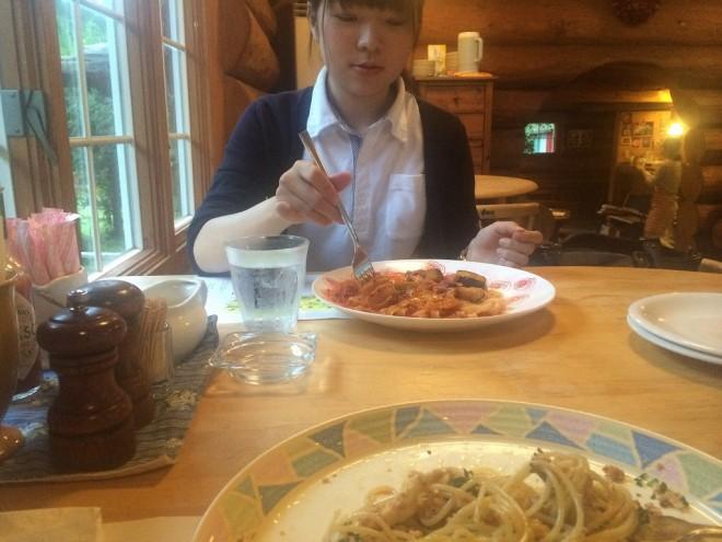 local news omoshiro  山梨で美味しいパスタ屋といったらベルデ %tag
