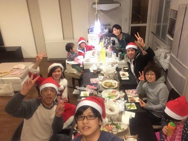 family 10人家族でクリスマスパーティーをするとこうなった。 %tag