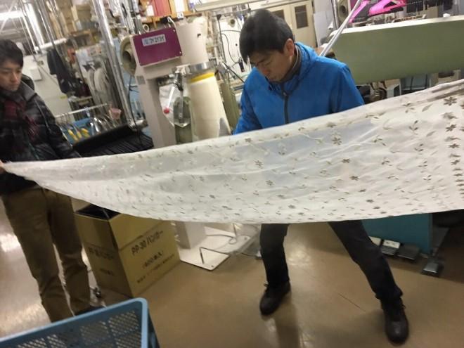 netdesentaku  富士山の雪解け水でレースカーテンをクリーニングさせて頂いております %tag