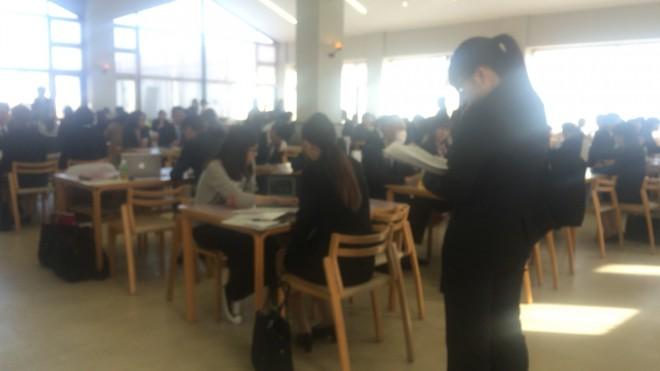 fresh recruit  山梨英和大学に会社説明会を招待されたので行ってきました。 %tag