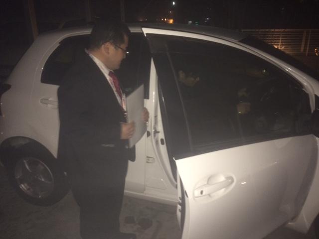 local news  納車のプロ・山梨トヨタの後藤さんがまたまた納車! %tag