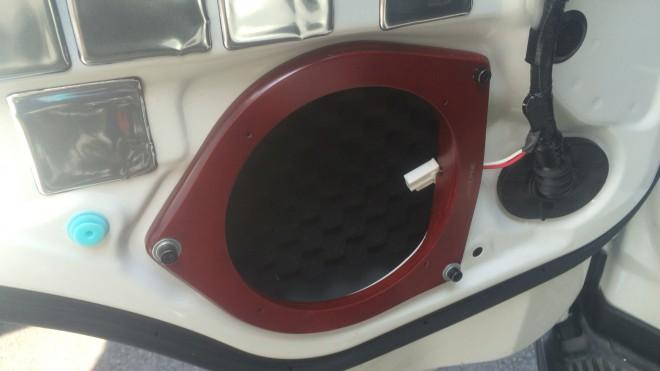 hiace  ハイエースのスピーカー交換とデッドニングで快適音楽ライフ %tag