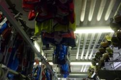 登山用品クリーニング、富士登山解禁とともに繁忙期第一波です。